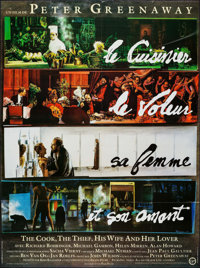 "The Cook, the Thief, His Wife & Her Lover & Other Lot (Miramax, 1990). French Grande (46.25"" X 62"") &a..."