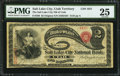 Salt Lake City, Territory of Utah - $2 Original Fr. 389 The Salt Lake City NB of Utah Ch. # 1921