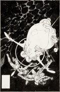 Original Comic Art:Covers, Michael Kaluta Time Warp #2 Cover Original Art (DC, 1979-80)....
