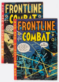 Golden Age (1938-1955):War, Frontline Combat #5 and 11 Group (EC, 1952-53) Condition: AverageVG.... (Total: 2 Comic Books)