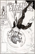 Original Comic Art:Covers, Geof Isherwood Doctor Strange: Sorcerer Supreme #43 CoverOriginal Art (Marvel, 1992)....