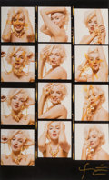 Photographs:Digital, Bert Stern (American, 1929-2013). Marilyn Monroe withJewelry, 1962. Digital pigment print, 2009. 39-3/8 x 25-7/8inches...