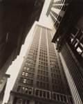 Photographs, Berenice Abbott (American, 1898-1991). Canyon: Broadway and Exchange Place, July 16, 1936. Gelatin silver. 9-3/8 x 7-1/2...