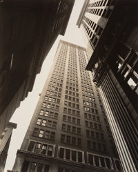 Berenice Abbott (American, 1898-1991) Canyon: Broadway and Exchange Place, July 16, 1936 Gelatin sil