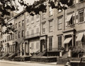 Photographs, Berenice Abbott (American, 1898-1991). Washington Square North, Nos. 21-25, between Fifth Avenue and MacDougal Street, Aug...
