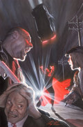Original Comic Art:Covers, Alex Ross Action Comics #900 Variant Cover Painting OriginalArt (DC, 2011)....