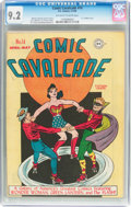 Golden Age (1938-1955):Superhero, Comic Cavalcade #14 (DC, 1946) CGC NM- 9.2 Off-white to whitepages....
