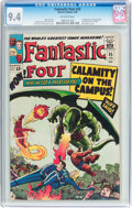 Silver Age (1956-1969):Superhero, Fantastic Four #35 (Marvel, 1965) CGC NM 9.4 Off-white pages....