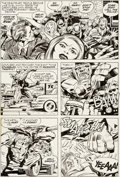 Original Comic Art:Panel Pages, Jack Kirby and Mike Royer Demon #12 Story Page 19 OriginalArt (DC, 1973)....