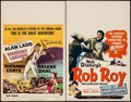 "Movie Posters:Adventure, Desert Legion & Others Lot (Universal International, 1953).Window Cards (3) (14"" X 22""). Adventure.. ... (Total: 3 Items)"