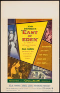 """Movie Posters:Drama, East of Eden (Warner Brothers, 1955). Window Card (14"""" X 22"""").Drama.. ..."""