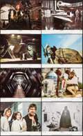 """Movie Posters:Science Fiction, Star Wars (20th Century Fox, 1977). Lobby Card Set of 8 (11"""" X 14""""). Science Fiction.. ... (Total: 8 Items)"""