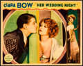 "Movie Posters:Comedy, Her Wedding Night (Paramount, 1930). Lobby Card (11"" X 14"").Comedy.. ..."