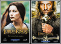 "Movie Posters:Fantasy, The Lord of the Rings: The Return of the King & Others Lot (New Line, 2003). Newspaper Posters (2) & Mini Poster (13.25"" X 1... (Total: 3 Items)"