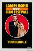 "Movie Posters:James Bond, James Bond Film Festival - Thunderball (United Artists, R-1975). International One Sheet (27"" X 41"") Style B. James Bond.. ..."