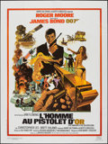 "Movie Posters:James Bond, The Man with the Golden Gun (CinePoster, R-1984). French Grande (47.25"" X 63""). James Bond.. ..."