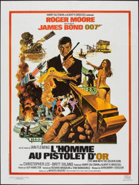 """The Man with the Golden Gun (CinePoster, R-1984). French Grande (47.25"""" X 63""""). James Bond"""