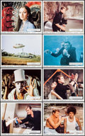 "Movie Posters:James Bond, Live and Let Die (United Artists, 1973). British Front of House Mini Lobby Card Set of 8 (8"" X 10""). James Bond.. ... (Total: 8 Items)"