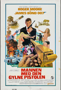 """The Man with the Golden Gun (United Artists, 1974). One Sheets (2) (27"""" X 41"""") Identical. James Bond. ... (Tot..."""