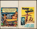 "Movie Posters:Adventure, Thunder Bay & Other Lot (Universal International, 1953). WindowCards (2) (14"" X 22""). Adventure.. ... (Total: 2 Items)"