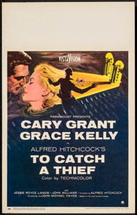 "To Catch a Thief (Paramount, 1955). Window Card (14"" X 22""). Hitchcock"