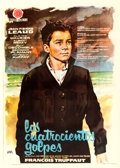 "Movie Posters:Foreign, The 400 Blows (Hispamex, 1960). Spanish One Sheet (28"" X 39.25"")Jano Artwork.. ..."