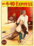 "Movie Posters:Adventure, The 4-40 Express (Gaumont, 1910s). British One Sheet (27"" X 40"")....."