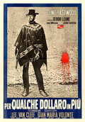 "Movie Posters:Western, For a Few Dollars More (PEA, 1965). Italian 4 - Fogli (53.5"" X76.5"").. ..."
