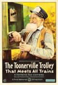 "Movie Posters:Comedy, The Toonerville Trolley (First National, 1920). One Sheet (28.25"" X41"").. ..."