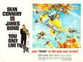 "Movie Posters:James Bond, You Only Live Twice (United Artists, 1967). British Quad (30"" X 40"") Style B, Frank McCarthy Artwork.. ..."