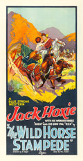 "Movie Posters:Western, The Wild Horse Stampede (Universal, 1926). Three Sheet (41"" X 79.5"").. ..."