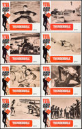 "Movie Posters:James Bond, Thunderball (United Artists, R-1970). Lobby Card Set of 8 (11"" X14""). James Bond.. ... (Total: 8 Items)"