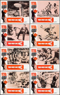 """Movie Posters:James Bond, You Only Live Twice (United Artists, R-1970). Lobby Card Set of 8 (11"""" X 14""""). James Bond.. ... (Total: 8 Items)"""