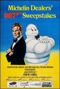 "Movie Posters:James Bond, A View to a Kill- Michelin Sweepstakes (MGM/UA/ Michelin, 1985).Advertising Poster (33 "" X 49""). James Bond.. ..."