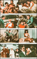 """Movie Posters:James Bond, You Only Live Twice (United Artists, 1967). UK Front of House ColorPhoto Set of 8 (8"""" X 10""""). James Bond/ Ian Fleming.. ... (Total: 8Items)"""
