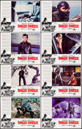 """Movie Posters:Crime, Danger: Diabolik (Paramount, 1968). Lobby Card Card Set of 8 (11"""" X14""""). Crime.. ... (Total: 8 Items)"""