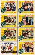 """Movie Posters:Comedy, How to Marry a Millionaire (20th Century Fox, 1953). Title LobbyCard & Lobby Cards (7) (11"""" X 14""""). Comedy.. ... (Total: 8Items)"""