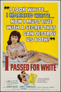 "Movie Posters:Exploitation, I Passed for White (Allied Artists, 1960). One Sheet (27"" X 41"").Exploitation.. ..."
