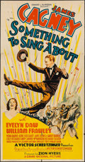"""Movie Posters:Musical, Something to Sing About (Grand National, 1937). Three Sheet (41"""" X79""""). Musical.. ..."""
