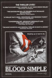 "Blood Simple (Circle Films, 1984). One Sheets (10) Identical (24"" X 37""). Thriller. ... (Total: 10 Items)"