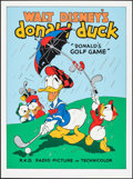 "Movie Posters:Animation, Donald's Golf Game & Other Lot (Circle Fine Art, R-1980s). FineArt Serigraphs (2) (21"" X 31.75"" & 22.5"" X 30.5""). Animation...(Total: 2 Items)"