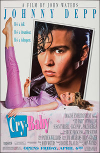 """Cry-Baby (Universal, 1990). One Sheets (10) Identical (29.5"""" X 45.25"""") SS Advance. Comedy. ... (Total: 10 Item..."""