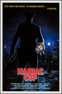 """Maniac Cop (Glickenhaus Films, 1988). One Sheets (15) Identical (27"""" X 41""""). Thriller. ... (Total: 15 Items)"""