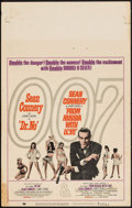 """Movie Posters:James Bond, Dr. No/From Russia with Love Combo (United Artists, R-1965). Window Card (14"""" X 22""""). James Bond.. ..."""