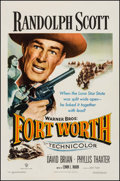 """Movie Posters:Western, Fort Worth (Warner Brothers, 1951). One Sheet (27"""" X 41"""").Western.. ..."""