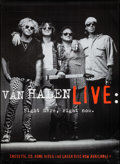 "Movie Posters:Rock and Roll, Van Halen Live: Right Here, Right Now (Warner Brothers, 1996).Album Poster (42"" X 58""). Rock and Roll.. ..."