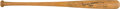 Baseball Collectibles:Bats, 1960's Mickey Mantle Signed Team Index Bat, MEARS A8....