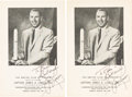 Autographs:Celebrities, James Lovell Signed 1970 Programs (Two) from the Empire Club ofCanada. ... (Total: 2 )