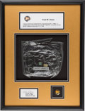 Explorers:Space Exploration, Apollo 13 Flown Space Food Meal Container Originally from thePersonal Collection of Mission Lunar Module Pilot Fred Haise, wi...