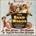 """Movie Posters:Musical, The Band Wagon (MGM, 1953). Six Sheet (81"""" X 74.5""""). Musical.. ..."""